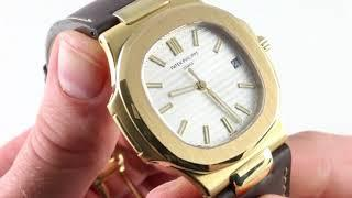 Patek Philippe Nautilus 5711J-001 Luxury Watch Review