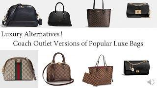 Coach Outlet Version of Popular Luxury Bags!