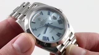 Rolex Day-Date 40 228206 Luxury Watch Review