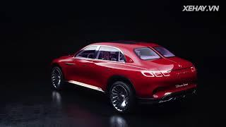 Cận cảnh Vision Mercedes-Maybach Ultimate Luxury |XEHAY.VN|