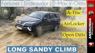 Fortuner vs Endy vs V-Cross | Long Sandy offroad Climb | May 2018