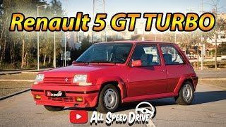 Renault 5 GT TURBO *Um Verdadeiro Aço da Velha Guarda* | AllSpeedDrive