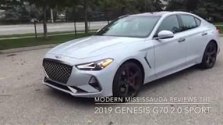 A manual rear-wheel-drive luxury car for $45,500? Yup! The 2019 Genesis G70 2.0 Sport