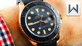 Rolex Yacht Master 37mm Mid-Size (Silicon/55-Hour) 268655 Luxury Watch Review