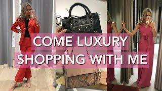 COME LUXURY SHOPPING WITH ME AT BICESTER - DESIGNER BAG HAUL