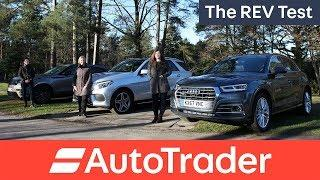 The REV Test: Luxury SUVs. Three woman, three cars. Which one wins?