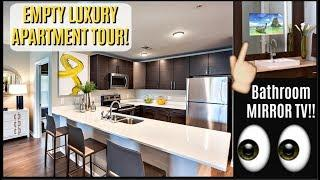 MY NEW EMPTY LUXURY APARTMENT TOUR 2018 | What I Got Myself For CHRISTMAS
