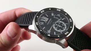 Cartier Calibre de Cartier Diver W7100056 Luxury Watch Review