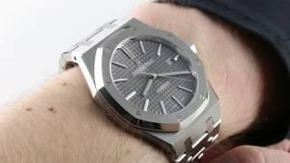 Audemars Piguet Royal Oak (Anthracite Dial) 15400ST.OO.1220ST.04 Luxury Watch Review