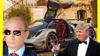 Donald Trump Vs Vladimir Putin Expensive Cars Collection $30000000