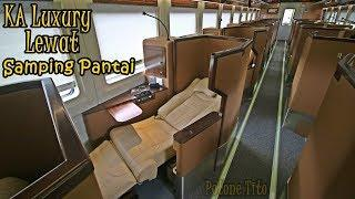 Menikmati Pantai Di Atas Kereta Tidur | Luxury Class KA Argo Bromo Anggrek