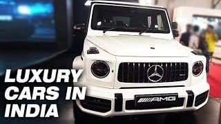 LUXURY CARS IN INDIA !