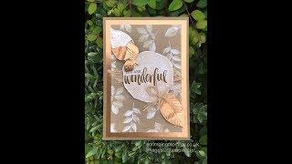 Rooted In Nature luxury altered notebook