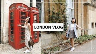 A WEEK IN LONDON | TRAVEL VLOG