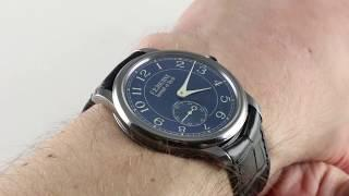 Pre-Owned F.P. Journe Chronometre Bleu Luxury Watch Review