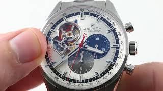 Zenith El Primero Chronomaster 1969 (03.2040.4061/69.C496) Luxury Watch Review
