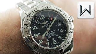 Breitling SuperOcean Chronometer Dive Watch (A1736011/B639) Luxury Watch Review