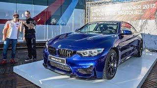 Marc Marquez's Prize BMW M4 CS