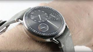 Ressence Type 1R (Ruthenium) Luxury Watch Review