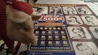 What a win!!!!!.......WINNING 777...LUXURY LINES....V.I.P...Scratchcards..ONE NOT TO MISS??(Classic)