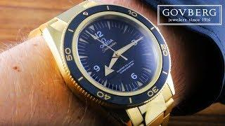 Omega Seamaster 300m FULL Yellow Gold 233.60.41.21.01.002 Luxury Watch Review