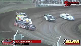 River Cities Speedway - NLRA Highlights - 6/15/18