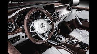 Mercedes X-Class Interior By Carlex Design - The Luxury Pickup Truck