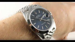 Rolex Datejust 41 (BLUE/JUBILEE) 126300 Luxury Watch Review