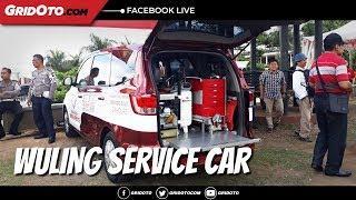 Lihat Lebih Dekat Wuling Service Car