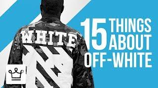 15 Things You Didn't Know About OFF-WHITE