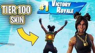 LIVE Fortnite SEASON 8 !!! Teir 100 LUXE IS A QUEEN !!! ❤️