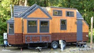 Amazing Lightweight Steel-Framed Tiny House on Wheels with Dual Slide Outs