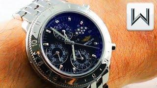 Breitling Windrider Astromat Perpetual Calendar Chronograph 1461 A19405 Luxury Watch Review