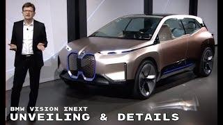 BMW Vision iNEXT Unveiling & Details   YouTube