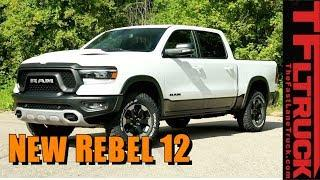 2019 Ram Rebel 12 Goes High Tech and High Luxury!