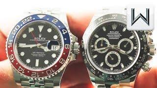 Rolex GMT Master II Pepsi vs Rolex Daytona  126710BLRO vs 116500LN Luxury Watch Review