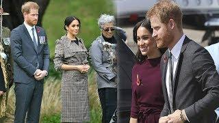 Meghan Markle stunned in a high-neck Hugo Boss dress luxury, which retails for $450AUD (£249).