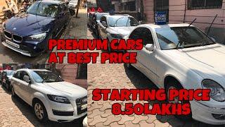 Used Cars | Want To Buy Luxury Cars| BMW | Audi | Mercedes| Starting Price 8.5Lakhs | Fahad Munshi |
