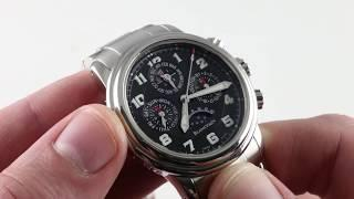 Blancpain Leman Perpetual Calendar Chronograph 2585F-1130-71 Luxury Watch Review