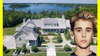 Justin Bieber House Tour $5000000 Luxury Expensive Mansion In Ontario Canada