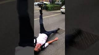 Violent Uber driver