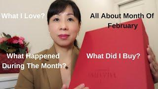 All About Month Of February II what I love II Luxury shopping II What Happened During The Month❤️