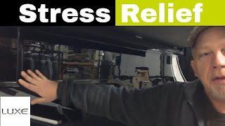 Stress Crack Relief Cut - Luxury 5th Wheels