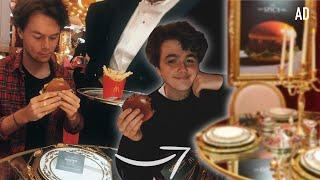 Eating at McDonalds Luxury Restaurant (AD)