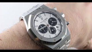 Audemars Piguet Royal Oak Chronograph 26331ST.OO.1220ST.03 Luxury Watch Review