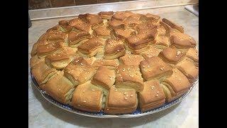 Kvadratura kruga pogača / Luxury puff pastry bread