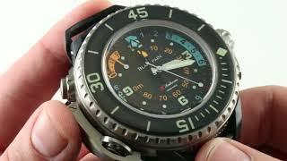 Blancpain Fifty Fathoms X Fathoms Limited Edition 5018-1230-64A Luxury Watch Review
