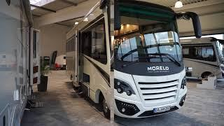 At the showroom of luxury RV manufacturer Morelo