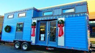 Gorgeous Cozy Luxury Blue Columbine 24 ft  Tiny Home