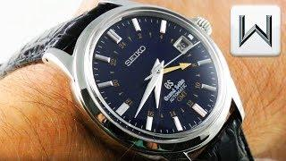 Grand Seiko GMT Limited Edition (SBGM031) Luxury Watch Review
